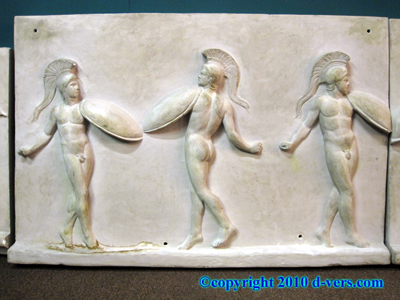 John DeLorean Commissioned Sculpture Nude Roman Soldiers Dancing