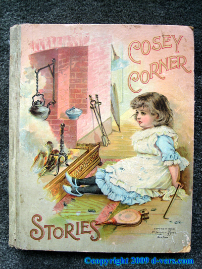 Cosey Corner Stories Childrens Book 1897 Antique Vintage