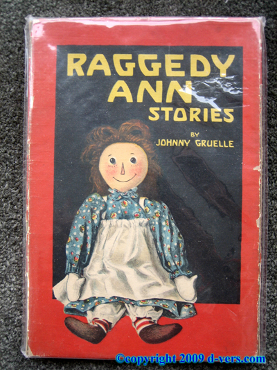 RAGGEDY ANN Stories Johnny Gruelle 1918 Antique Original Vintage