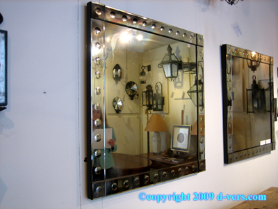 Venetian Modern Style Mirror French 20th Century