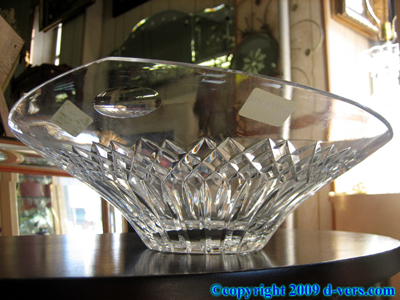 Genuine Waterford Crystal Bowl Contemporary
