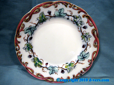 China Luncheon Plates 8 Pcs 19th Century English