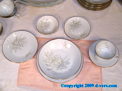ROSENTHAL China Service for 12 124 Piece MINT