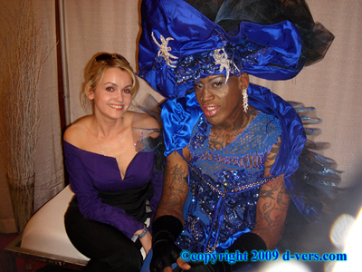 DENNIS RODMAN Custom Haute Couture Dress Oksana Remi