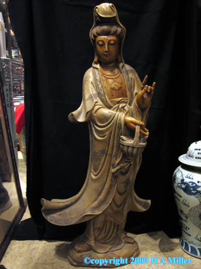Chinese Soapstone Sculpture Kwan Yin Kuan Yin Natural