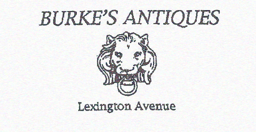 Burke's Antiques - Lexington Ave