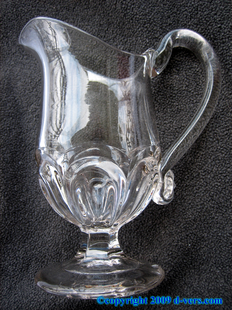Early American Mini Pitcher Lead Crystal