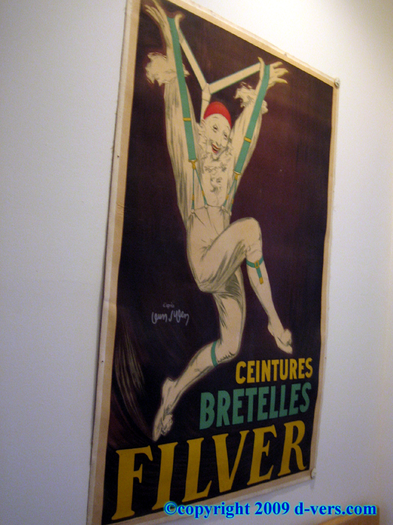 Filver Suspenders Advertising Poster by Jean D'Ylen