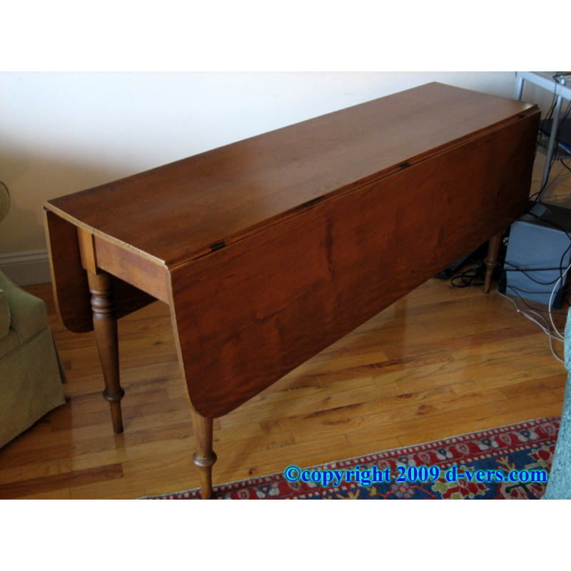 Drop Side Table Drop Leaf Table American