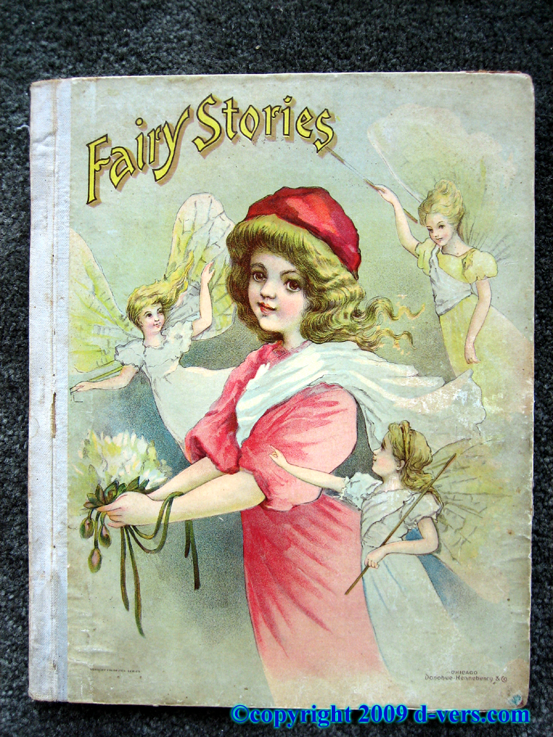 Fairy Stories inclusing Puss in Boots, Little Red Riding Hood, and others, published in the 19th Century