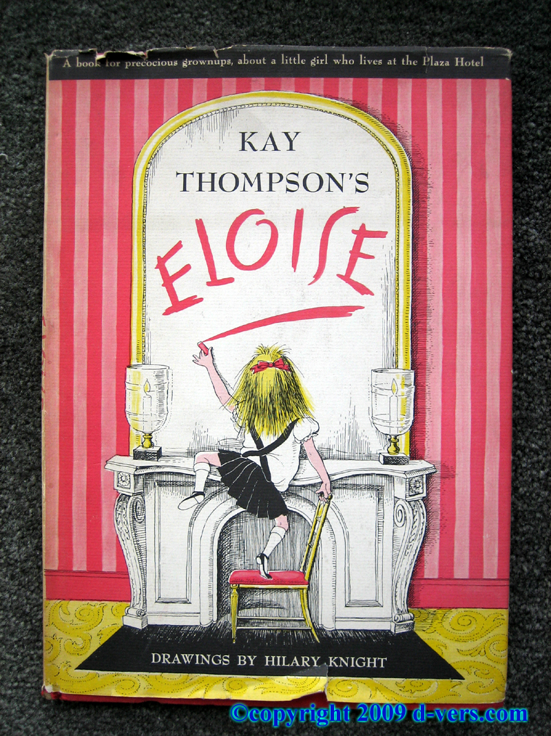 Eloise Book by Kay thompson