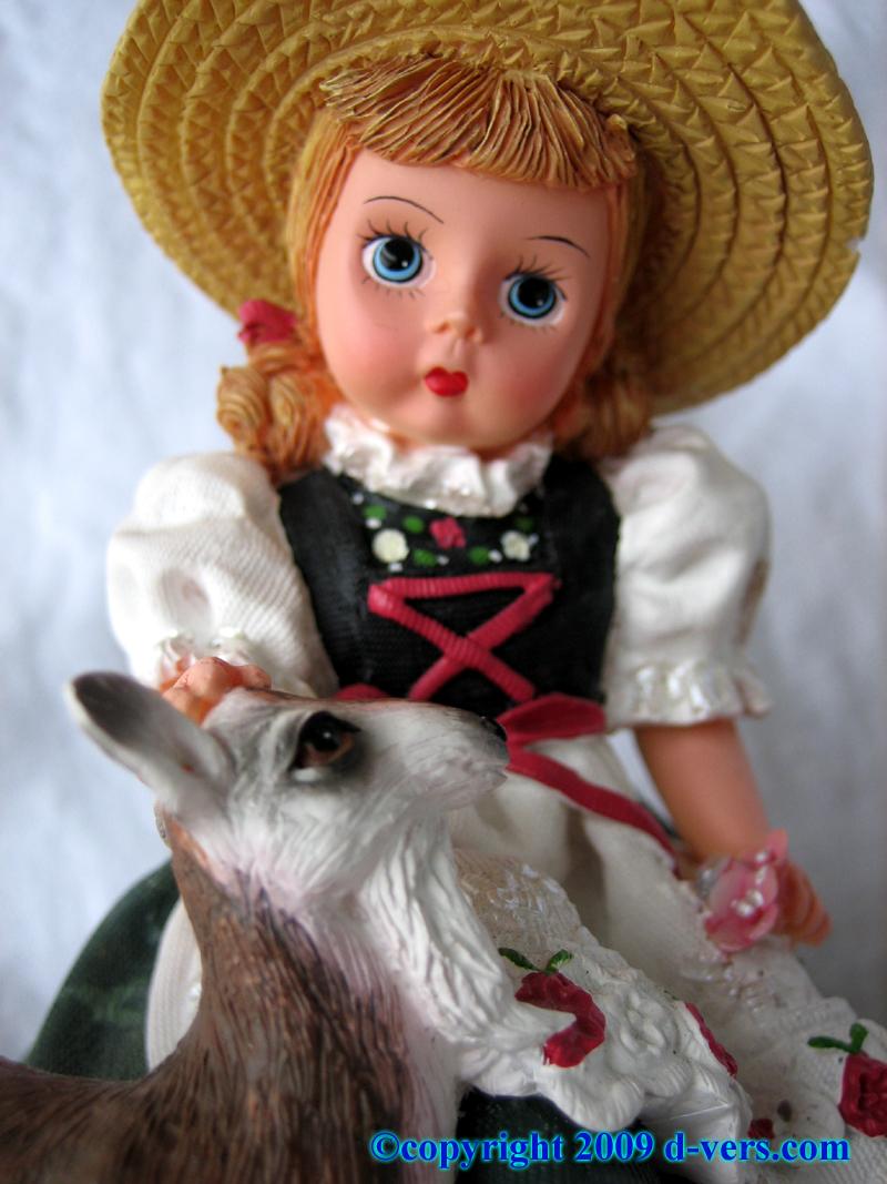 Heidi figurine by Madame Alexander