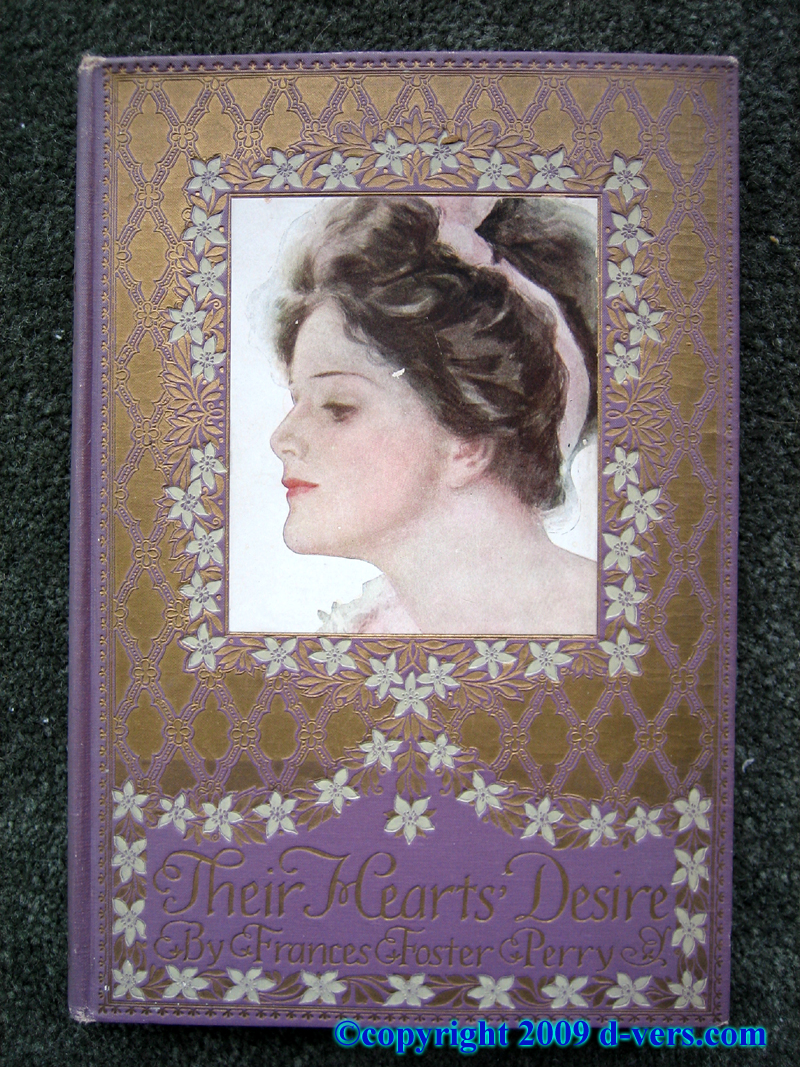Harrison Fisher Illustrated book titled Their Hearts Desire