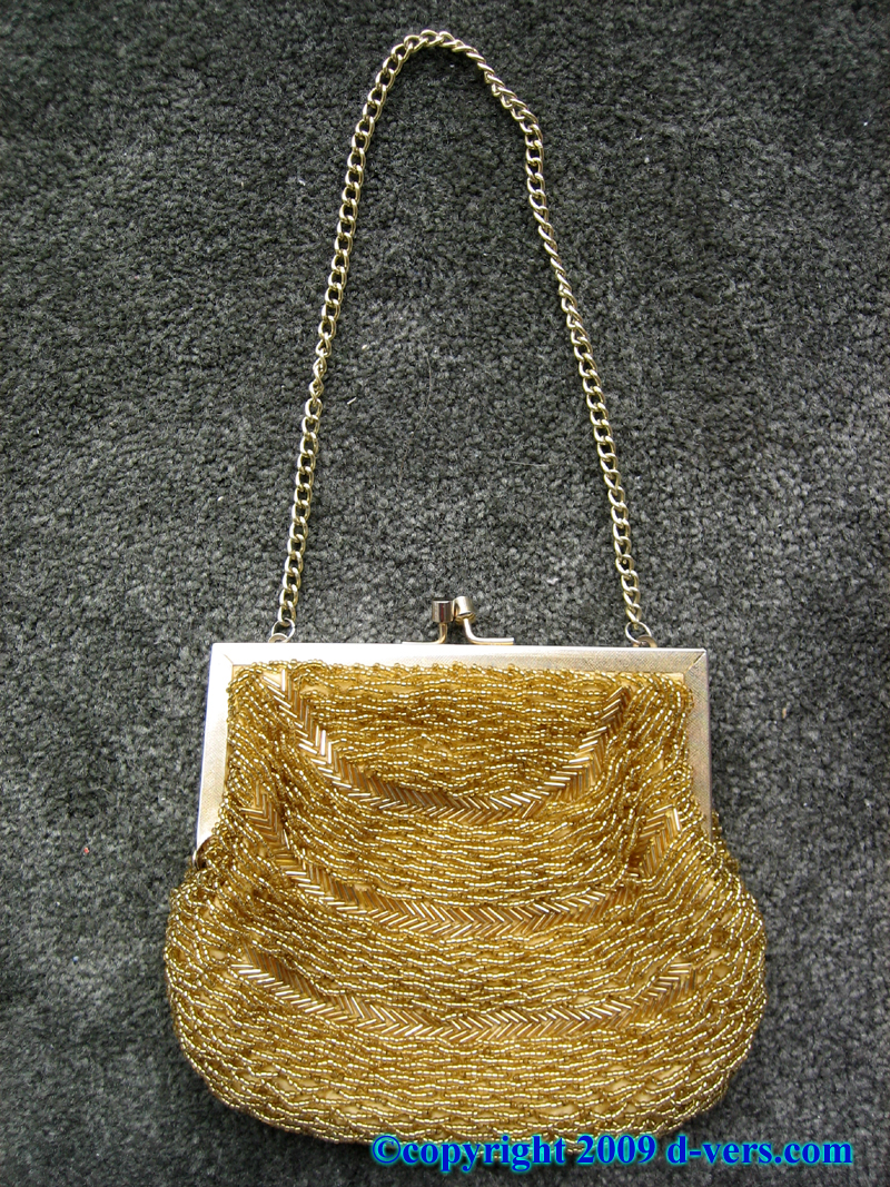 Vintage Beaded Purse From The 1940s