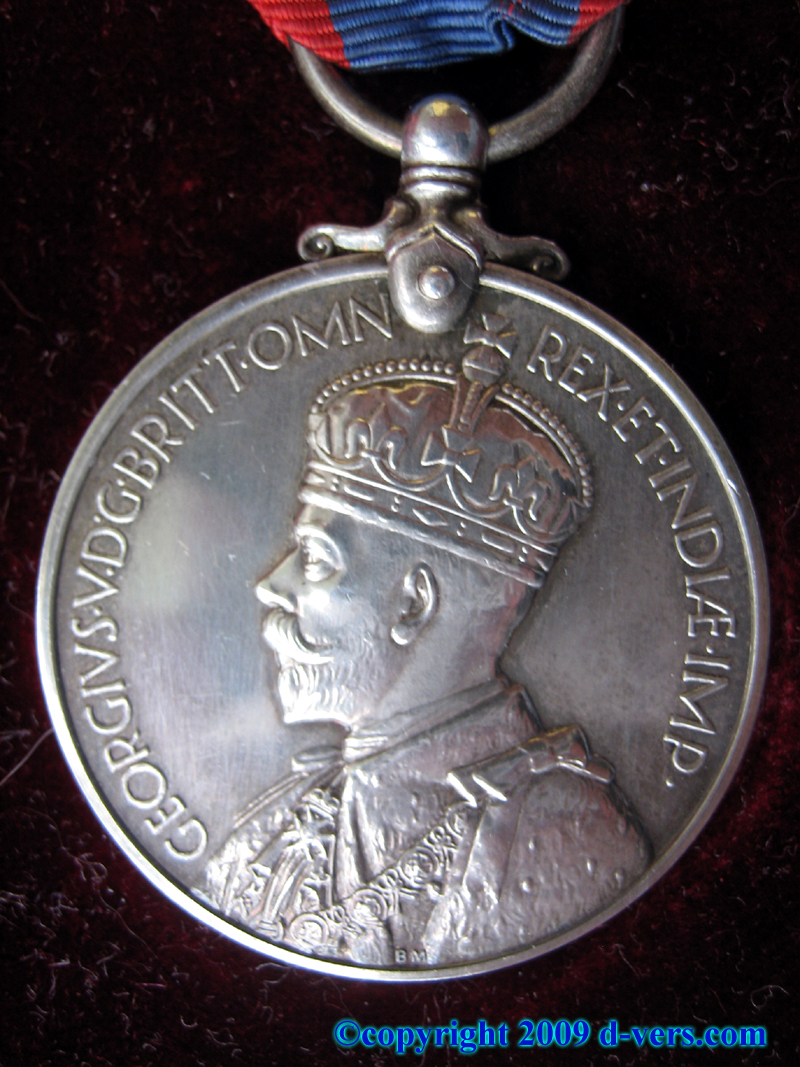 George V Medal From Britain to American Soldiers Fighting in World War II WWII
