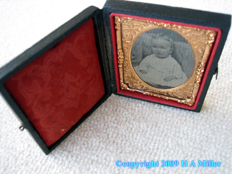 Original Set of Daguerreotype Images of a Portrait of an American Family
