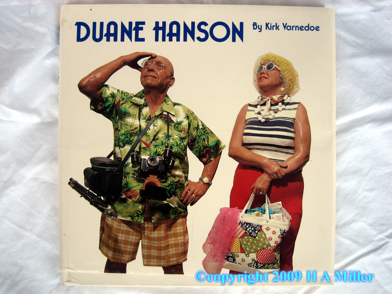 Cover of book entitled Duane Hanson authored by Kirk Varnedoe