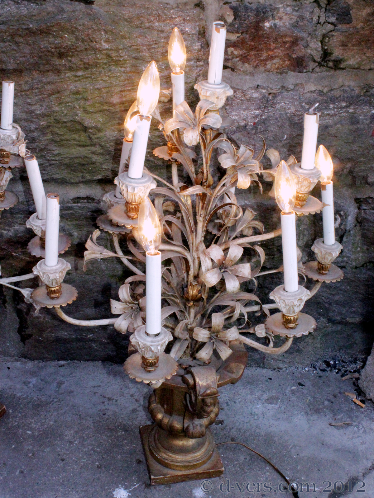 Pair of Antique Candelabra