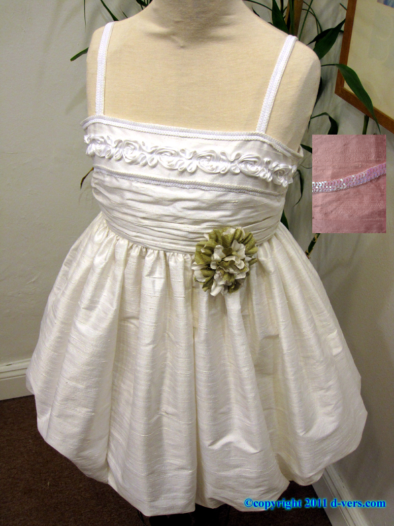 Girls Custom Handmade Couture Special Occasion Bubble Dress