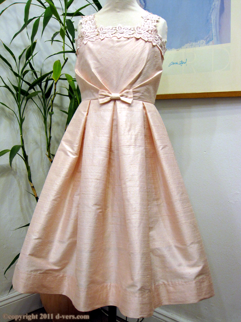 Girls' Handmade Custom Couture Special Occasion Dress in Pink by Amber Inc.