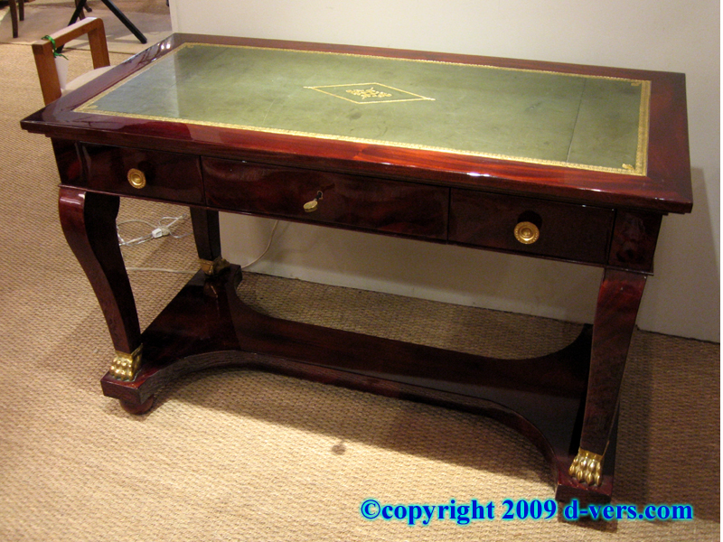 Contemporary French Empire Style Console writing desk