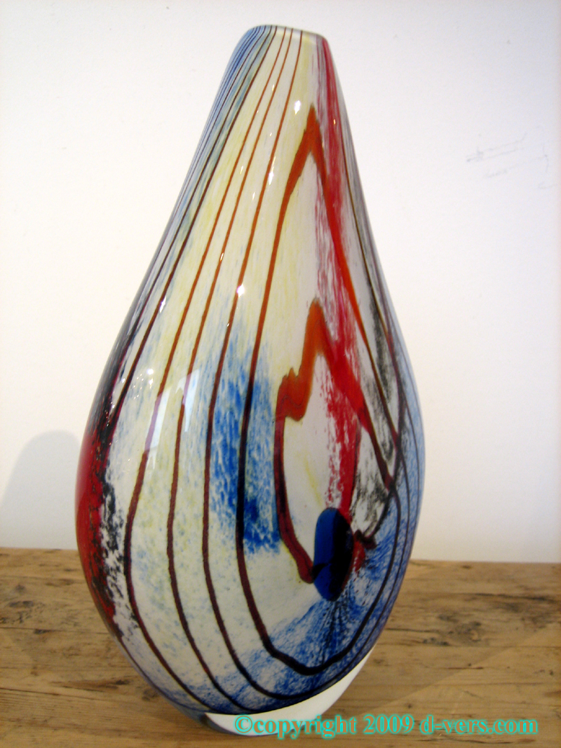 Murano vase art glass multi colored 1940 20th century italian murano vase art glass multi colored 1940 20th century italian reviewsmspy