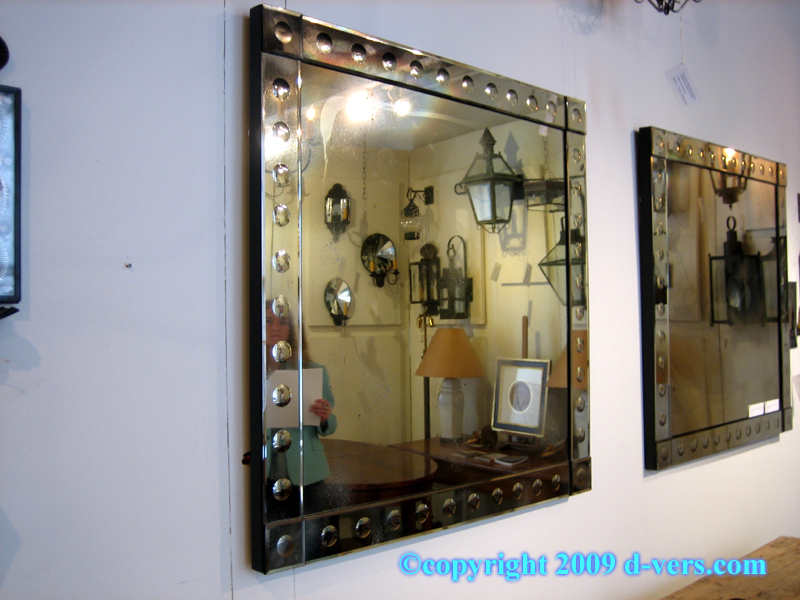 Venetian Mirror in Modern Style with Ponti Design