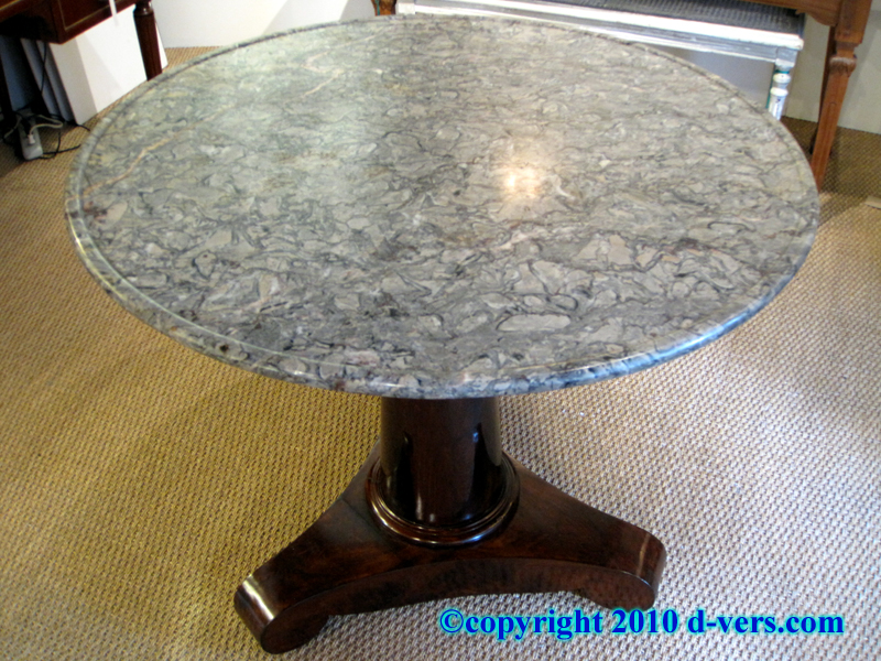 1st Empire Marble Top Gueridon