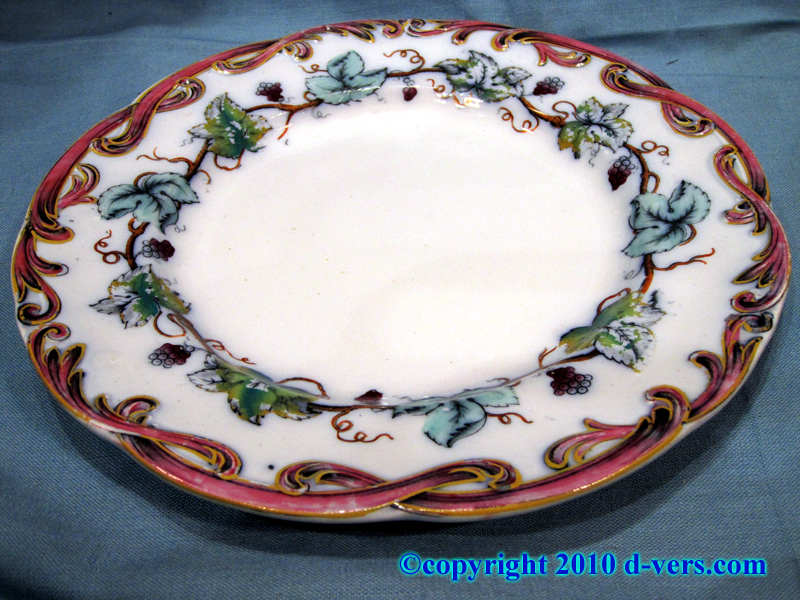 English China Luncheon Plates 19th Century