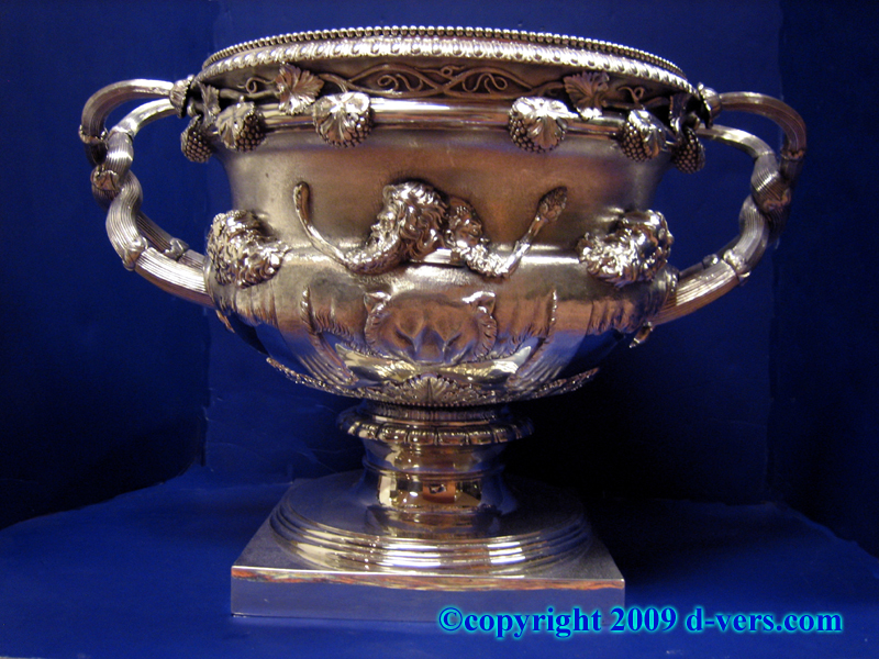 Georgian Sterling Silver Warwick Vase