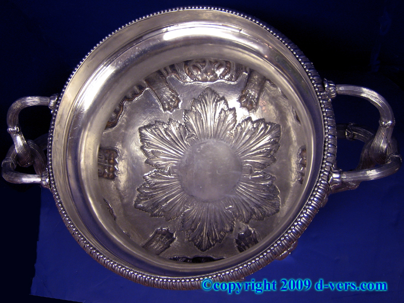 Warwick Vase in Sterling Silver