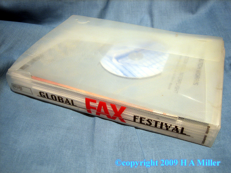 Limited Edition Binder From The Global Fax Festival Conceived by and Featuring David Hammons